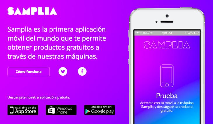 samplia app