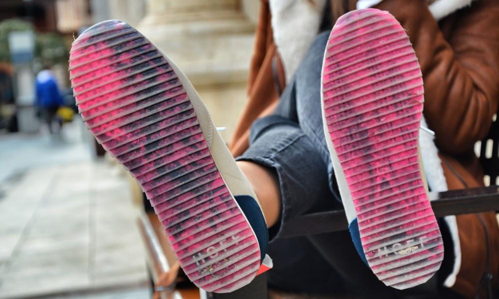 suela zapatillas hoff brand