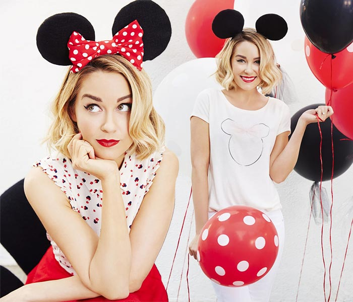 minnie mouse de moda